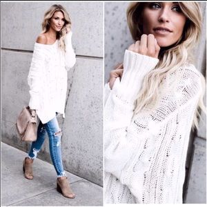 Last Slouchy oversized loose fit sweater comfy